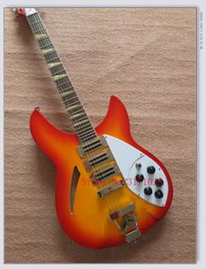 Cherryburst Yeni Varış 325 330 Rick 6 Strings Elektro Gitar Yüksek Kalite En İyi Ücretsiz Kargo