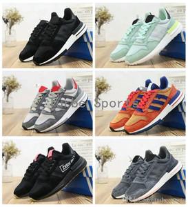 2018 ZX500 RM Goku Même Triple Noir Gris Vert Hommes Femmes Chaussures De Course Athletic Respirant Baskets Taille 5.5-11