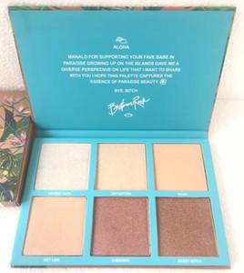 EM ESTOQUE !! Maquiagem Rosto Highlighter 6 cores Palette Babe Em Paradise Bronzers Highlighters Alta qualidade cosméticos por Epacket