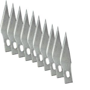 11 # 10 piezas de cuchillas para herramientas de talla de madera grabado artesanal Escultura Cuchillo bisturí herramienta de corte de reparación de PCB