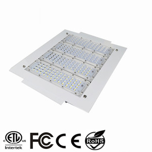 150W LED Proyectores 200W Canopy Light 100W 120W Alto Bay Light Empotrado montado para GAS Estación de luz AC 85-277V