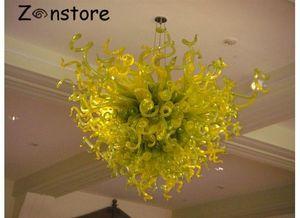 Hecho en China Fancy Glass Colgante Light European Classic Chandelier Murano Glass Pretty Chandelier para Comedor