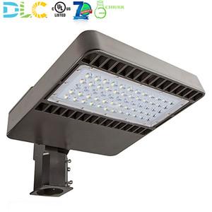 80w 100w 150w LED Shoebox Light Area Parking Lot Light Stadium Fixture Pole Lamp Flood Lighting 5000K ETL DLC Approved