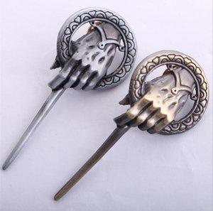 Game of Thrones Das Lied von Eis und Feuer Brosche Hand des Königs Revers Authentische Stütze-Abzeichen Broschen Film Schmuck inspiriert
