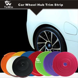 Auto Radnabe Felge Farbänderung DIY Auto Radnabe Zierstreifen Auto Fahrzeug Radnabe Dekoration Änderung