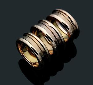 Повелительница 316L титана стали кофе Керамический сувенир издание винтовой резьбой свадьба обручальное 18K позолоченные узкие кольца Size6-10