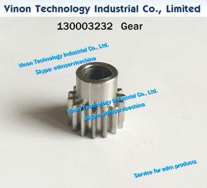 (1pc) 130003232 edm Robofil 용 기어드 휠 190,290,290P, 300,310,390 Charmilles edm parts 톱니 기어 130.003.232, 24.54.064