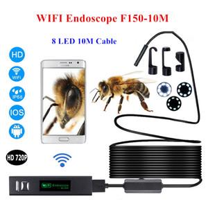 Wifi Iphone эндоскоп камеры 1200P 8 мм Android Windows MAC бороскоп водонепроницаемый IP68 трубка инспекции эндоскоп