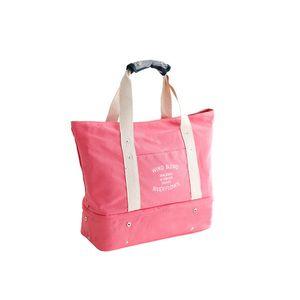 Wobag Мода Женщины Складные Путешествия Водонепроницаемая сумка Женский большой холст плече сумка путешествия в 2018 году