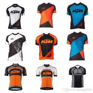 Nuevos hombres KTM ciclismo jersey ciclismo ropa maillot ciclismo manga corta KTM Ropa ciclismo MTB ciclismo C1327
