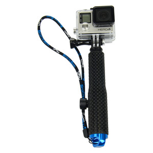 À prova d 'água de alumínio telescópica handheld monopé selfie vara para gopro hero6 5 4 3 plus 2 sj4000 xiaomi yi 4 k câmera de ação