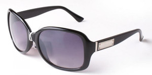 Nueva Plaza de Lujo Gafas de Sol Diseñador de la Marca Señoras de Gran Tamaño Gafas de Sol de Cristal Mujeres Gran Marco Espejo Gafas de Sol Para Mujer 2745