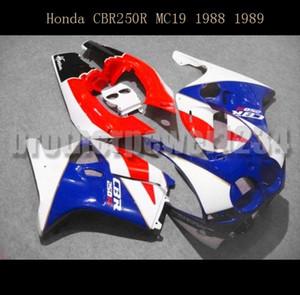 Carosserie peinte ABS carénage personnalisé pour Honda CBR250RR MC19 1988 1989