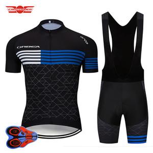 2019 Factory Team Orbea Cycling Jersey Set MTB Uniform Quick Dry Bike abbigliamento Abbigliamento da bicicletta Abbigliamento Uomo corto Maillot Culotte Suit