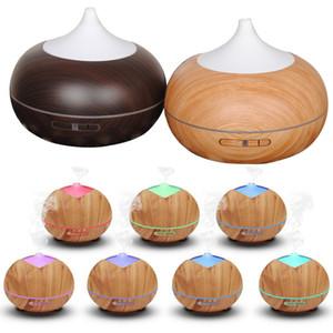 400 мл древесины зерна увлажнитель воздуха деревянный увлажнитель ультразвуковой увлажнитель аромат эфирное масло диффузор портативный туман чайник WX9-423