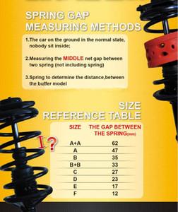 (Размер с) 2 шт. специальный Оптовая продажа Тип C авто амортизатор Весна мощность подушка буфера АБ сорбер для автомобиля,уретановая, автозапчастей