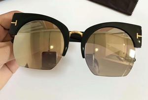 Женщины Dakota TF 552 Shiny Black Пластиковые очки светло-серый Градиентные солнцезащитные очки с оригинальной Case