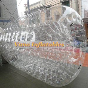Inflatable Water Roller TPU 3x2.6x2m Commercial Water Cylinder Hamster Roller Wheel Zorb Ball with Pump Free Shipping