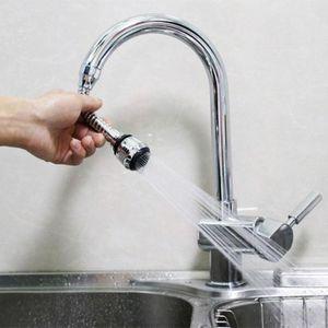 In acciaio inox 360 gradi girevole rubinetto risparmio idrico rubinetto aeratore diffusore rubinetto ugello filtro acqua rubinetto gorgogliatore aeratore