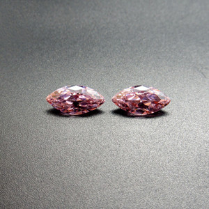 1.5x3mm-8x16mm 10 tailles de haute qualité 3A cubique zircone rose CZ Marquise forme coupe lâche pierres précieuses gros pour la fabrication de bijoux 500pcs / lot
