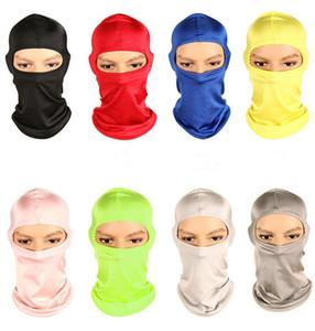 Bisiklet Yüz Maskesi Açık İşlevli Yüz Koruma Rüzgar Geçirmez spor Eşarp Şapka Kap Bisiklet Yüz Maskesi 8 Renkler ADEDI 60 adet
