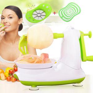 Utensili da cucina Peeler Zester Utensili Peeling automatico Utensili da cucina Peeler Fruit Slicer Peeling Device Apple Cutter