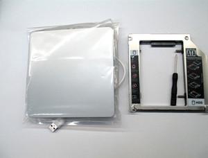 "Freeshipping nouveau cas pour Apple Macbook Pro unibody 13"" HDD SSD OptiBay Adaptateur Caddy Kit USB DVD Case"