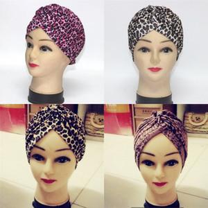 Mode Druck Leopard Yoga Cap Damenhut Mann und Frauen weiche Turban heißen Verkauf-3 5yh Ww