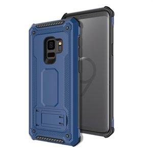 Hybrid Kickstand-Magnetkoffer hart Überlegene Barde Slim Armor für Samsung Galaxy S8 S9 + A8 Plus J2 Pro 2018 A530 A730 S7 Edge J2 Prime