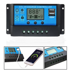 10A/20A/30A 12V / 24V LCD Solar Charge Controller with Auto Regulator Timer for Solar Panel Battery защита от перегрузки свинцово-кислотных аккумуляторов
