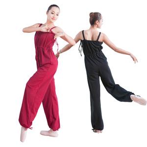 Justaucorps De Danse Adulte Pour Les Femmes Justaucorps De Gymnastique Noir Unitard Combinaison De Ballet De Filles Vêtements BodysCS0041