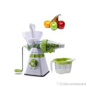 New Household Manual Juice Maker fruit Vegetables Wheatgrass Juice Machine Mullti-function Juice Extractor For Home Kitchen