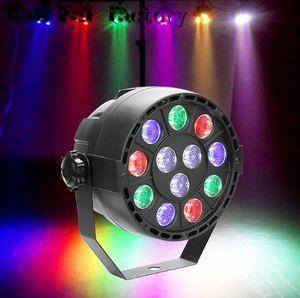 12 Вт RGBW этап освещение с моделью 12 каналов DMX светодиодный par света голосовой активации пульт дистанционного управления диско DJ этап Рождество лампы LLFA