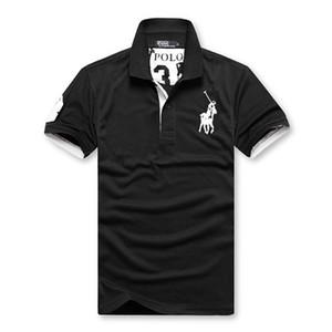 Doma camisa de manga curta homens com lapela business casual polo camisa com camisa de algodão simples e elegante com meia manga desgaste dos homens