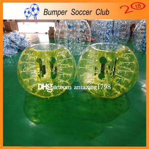 Ücretsiz kargo! Fabrika fiyatı ! Ucuz 1m Zorb Ball, İnsan Kabarcık Futbol Takım elbise, Şişme Tampon Topu İçin Çocuk