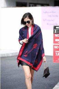Костыли женщин шарфа в осени и зиме, небольшой шали кашемира х новый стиль печатания для дам улицы в Европе и Америке