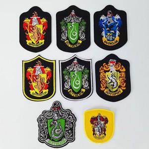 Zona del ricamo HARRY POTTER Hogwarts Scuola Distintivo Patch Ricamate Militare Tattico Bracciale Gancio Loop Cap Bag Badge