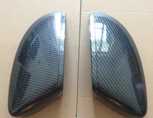 per Scirocco Passat B7 EOS (Carbon Effect) Coperchi per specchietti laterali in alluminio