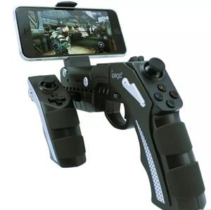 IPEGA 9057 PG-9057 Gun Stil Kablosuz Bluetooth Oyun Denetleyicisi Joysticker Gamepad Cep Telefonu Tablet TV Kutusu için Handcep gerilebilir