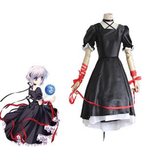 Kagari Cosplay Rewrite Anime Kostüm Frauen Gothic Lolita Kleid Uniformen Anzüge Kostüme Für Halloween Karnevalsparty