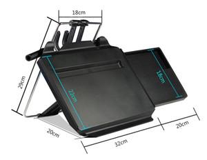 노트북 카시트로 돌아 가기 PC에 장착 트레이 블랙 테이블 노트북 노트북 데스크 표에 대한 LONGFENG LFCP15 NEW 다기능 자동차 스티어링 휠 트레이