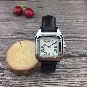 2020 Design de Moda simples Ladies 32mm assistir couro mulheres estudantes senhora lazer relógios relógios de pulso de quartzo vestido esportivos casuais para as mulheres