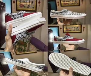 Medo de Deus homens mulheres sapatos de Lona Nevoeiro 2018 Sapatos Casuais esportes sapatilha skool velho x Era 95 Reemit ...