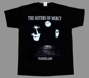 Mercy Floodlands Gotik Kaya Yeni Siyah Kısa / Uzun Kollu T-shirt Kollu Tshirt Yaz Erkekler Tee Tops Giyim