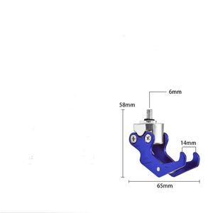 Accesorios eléctricos modificados para scooters eléctricos Gancho de garra de águila, Gancho para casco de equipaje, Piezas decorativas, Duradero, Todo de aluminio