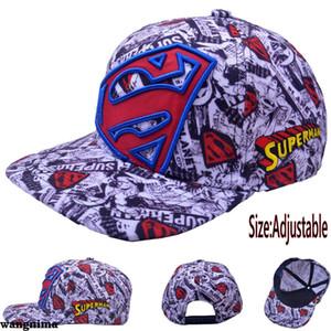 Superman Chapeau de camionneur de base-ball Nouveau courbé Hip-Hop Hommes Coffret Cadeau NOUVEAU DFA