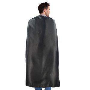 Простой цвет 70 * 140см один атласный костюм Хэллоуин косплей взрослых накидки настроить тимбилдинг рекламные