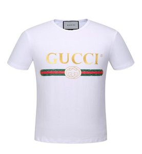 Maglietta da uomo t-shirt Hip Hop t-shirt manica corta in cotone 100% cotone uomo t-shirt 3g T shirt da uomo polo tees stampa tag t shirt 318
