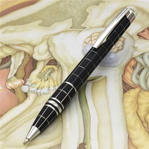 Stylo à bille unique design-noir avec top en cristal fournitures scolaires de bureau papeterie écriture stylo de marque livraison gratuite