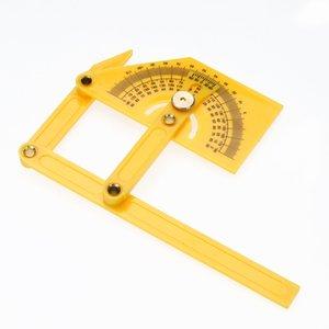Outil de mesure d'angle flexible Outil de réglage d'angle-izer Outil de mesure du rapporteur d'angle avec modèle d'instrument de mesure articulé TH4